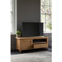 Next Huntingdon Wide TV Stand - Natural