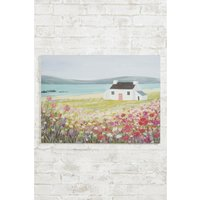 Next Artist Collection Summer Berry Landscape by Janet Bell Canvas - Pink
