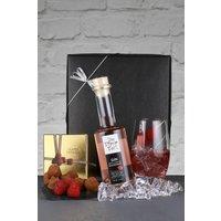 Next Tipsy Raspberry Gin And Champagne Truffles Gift Box - Black
