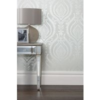 Next Paste The Wall Damask Wallpaper - Silver