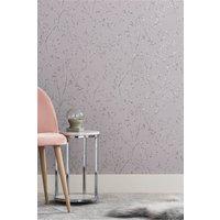 Next Paste The Wall Metallic Sprig Wallpaper - Mink