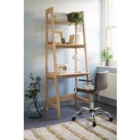 Next Malvern Oak Ladder Desk - Natural