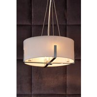 Next Moderna 4 Light Chandelier - White