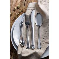 Next 16 Piece Heart Cutlery Set - Silver