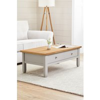 Next Huntingdon Painted Coffee Table - Natural