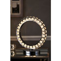 Next Coronas Touch Table Lamp - Chrome