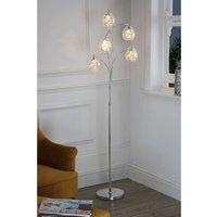 Next Bella 5 Light Floor Lamp - Mink