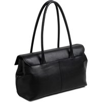Womens Radley Black Burnham Beeches Large Flapover Shoulder Bag - Black