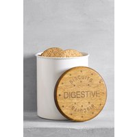 Next Digestive Treat Jar - Cream