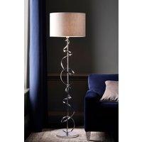 Next Ribbon Touch Floor Lamp - Chrome