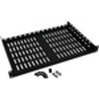 Tripp Lite SRSHELF2P1U 1U Rack Shelf - Black - Cold-rolled Steel (CRS) - 18.14 kg Maximum Weight Capacity