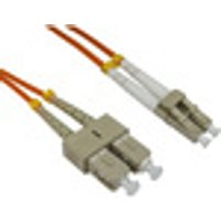 15m Cables Direct Fibre Optic Network Cable OM2 LC - SC