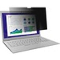 """3M Black Privacy Screen Filter - For 33.8 cm (13.3"""") Widescreen Notebook"""