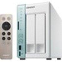 QNAP Turbo NAS TS-251A 2 x Total Bays SAN/NAS Storage System Desktop Intel Celeron N3060 Dual-core