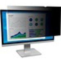 "3M Black, Matte Privacy Screen Filter for 22"" Monitor"