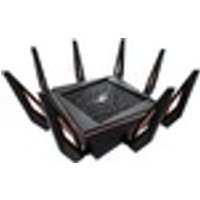 Asus ROG Rapture GT-AX11000 IEEE 802.11ax Ethernet Wireless Router - 2.40 GHz ISM Band - 5 GHz UNII Band - 1.34 GB/s Wireless Speed - 5 x Network Port - 1 x Broadban