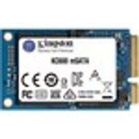 Kingston KC600 256 GB Solid State Drive - mSATA Internal - SATA (SATA/600) - Desktop PC, Notebook Device Supported - 150 TB TBW - 550 MB/s Maximum Read Transfer Rate
