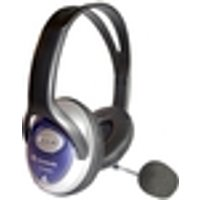 Dynamode DH-660 Wired 40 mm Headset - Over-the-head - 20 Hz - 20 kHz - 2.50 m Cable