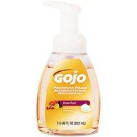 Premium Foam Antibacterial Hand Wash, Fresh Fruit Scent, 7.5 oz Pump, 6/Carton