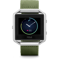 FITBIT Blaze Accessory Band - Olive, Large, Olive