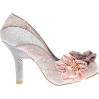 irregular choice pale pink peach melba high heels