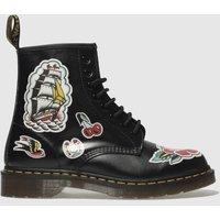 Dr-Martens-Black-and-Red-1460-Chris-Lambert-8-Eye-Boots