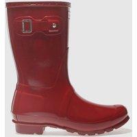 hunter-red-original-short-gloss-boots