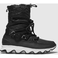 Sorel-Black-and-White-Kinetic-Boot-Boots