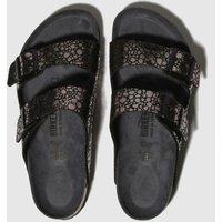 Birkenstock Black Metallic Stones Sandals