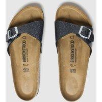 Birkenstock Dark Grey Cosmic Sparkle Madrid Sandals