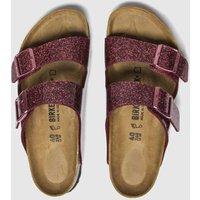 Birkenstock Pink Cosmic Sparkle Arizona Sandals