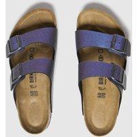 Birkenstock Purple Icy Metallic Arizona Sandals