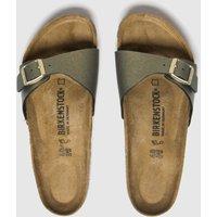 Birkenstock Gold Icy Metallic Madird Sandals