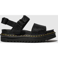 Dr Martens Black Voss Sandals