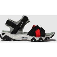 Skechers Black & Red Dlites 2 Mega Summer Trainers