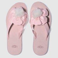 Ugg Pale Pink Poppy Sandals