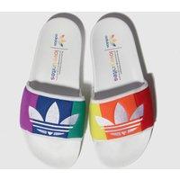 Adidas Multi Adilette Pride Slide Sandals