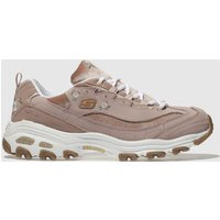 Skechers Pale Pink Dlites Trainers