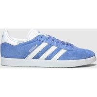 Adidas Blue Gazelle Suede Trainers