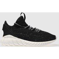 Adidas Black & White Tubular Doom Sock Primeknit Trainers