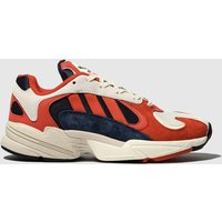 Adidas Navy & Red Yung-1 Trainers