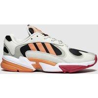 Adidas Black & Orange Yung-1 Trainers