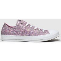 Converse-Pink-All-Star-Glitter-Ox-Trainers