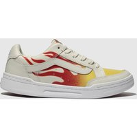 Vans-White-and-Red-Highland-Trainers