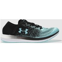 Under Armour Black And Blue Threadborne Blur Trainers