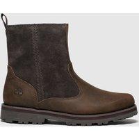 Timberland Dark Brown Courma Boots Junior