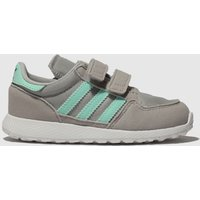 Adidas Light Grey Forest Grove Trainers Toddler