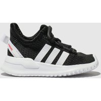 Adidas Black & White U_path Run Trainers Toddler