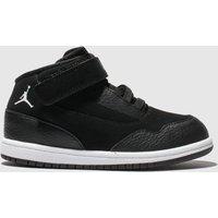 Nike Jordan Black & White Jordan Executive Trainers Toddler