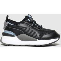 Puma Black & Grey Rs-0 Smart Trainers Toddler